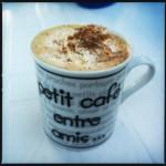 petit café enter amis...