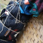 2 x 25 kilos plus the porters small backpack