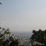 View over Kathmandu from Swayambhunath