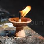 Candle at Swaymbhunath