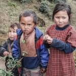Kiddies near Lukla