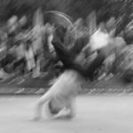 Breakdancing Kids auf dem Alexanderplatz