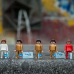 40 Jahre Playmobil - Werbegag auf dem Alexanderplatz
