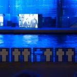 Multimediashow beim Reichstag