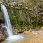 Mit etwas über 5 Metern der höchste Wasserfall des Kantons Aargau